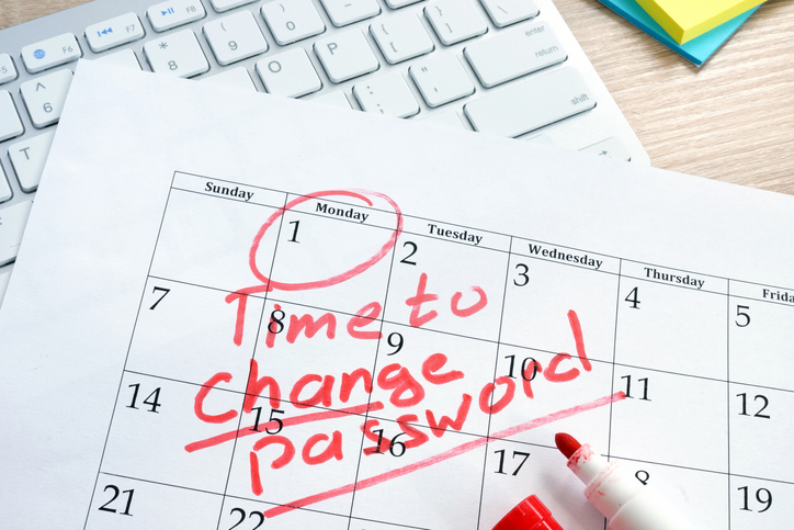 April Is National Change Password Month