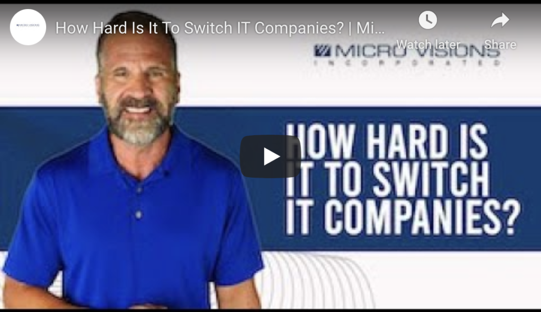Switching IT Providers In Grand Rapids