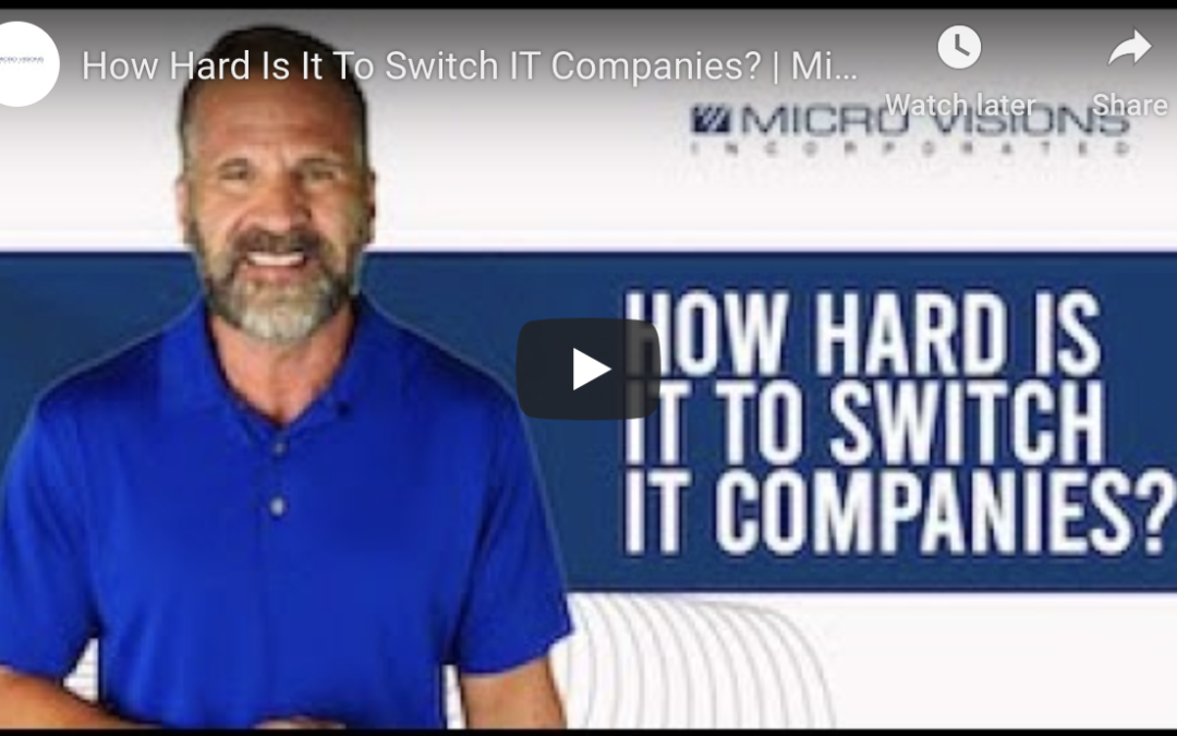 A Professional's Playbook For Switching IT Providers In Grand Rapids